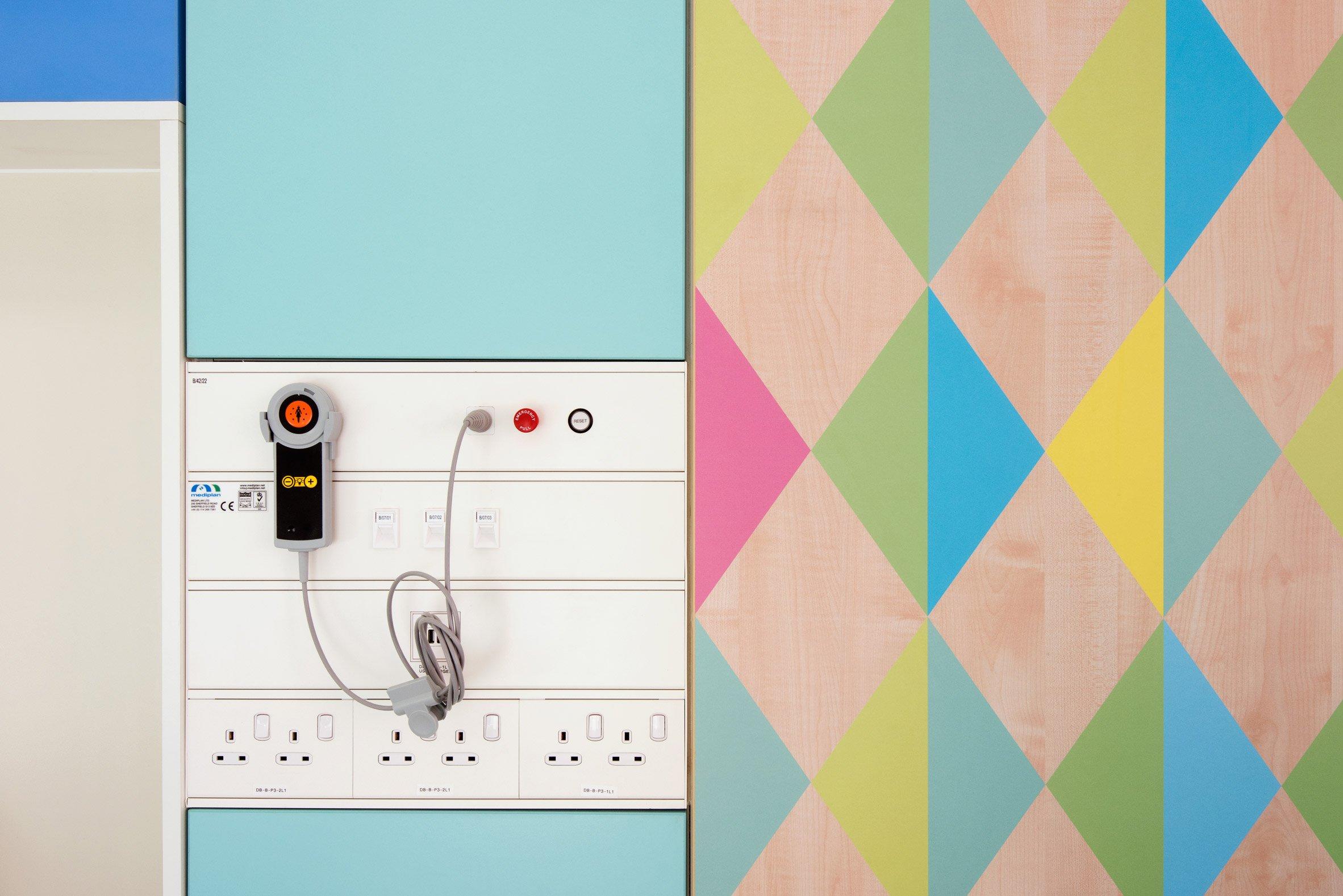 Colourful healthcare design