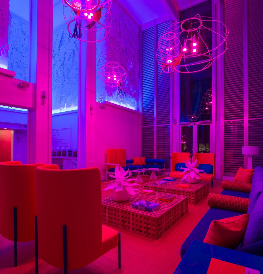 shoreline hotel neon